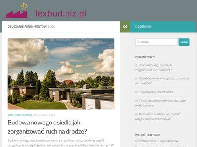 Lexbud.biz.pl - osuszanie budynków