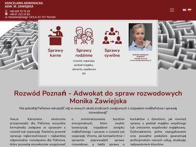 Mzawiejska-adwokat.pl sprawy karne