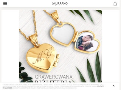 Bransoletka pandora i biżuteria - Murrano