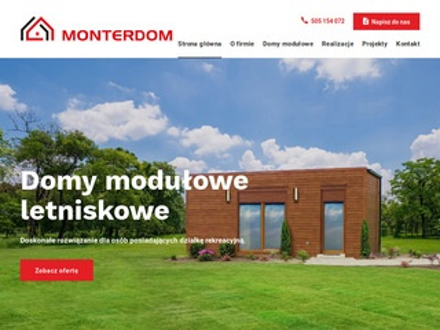 Domki na zgłoszenie - Monterdom