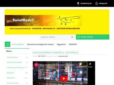 Sklep modelarski mojswiatmodeli