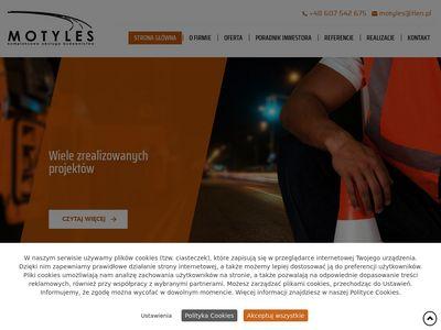 Motyles projekty dróg Włocławek