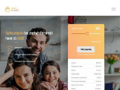 Mini-credit.pl pożyczki