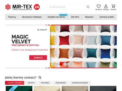 Mir-tex24.pl - hurtownia tkanin
