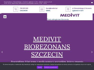 Terapie zdrowotne Szczecin Medivit