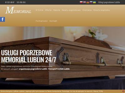 Memorial24.pl usługi pogrzebowe