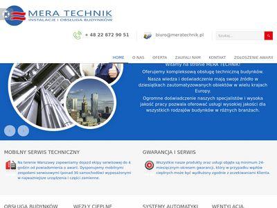 Mera Technik konserwacja budynku