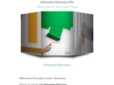 Apm - tanie malowanie Warszawa