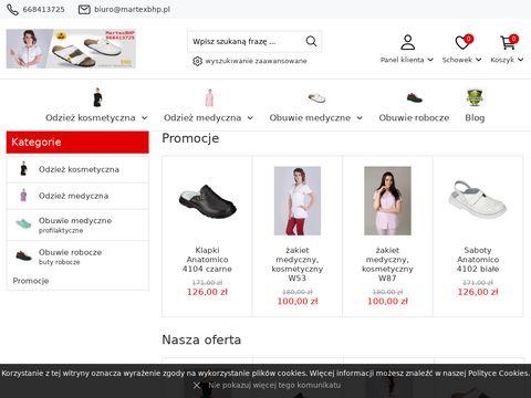Martex BHP obuwie zawodowe