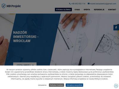 Mb Projekt inspektor budowy Wrocław