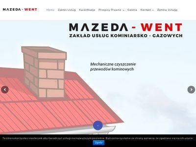 Mazeda-Went usługi kominiarskie Kraków