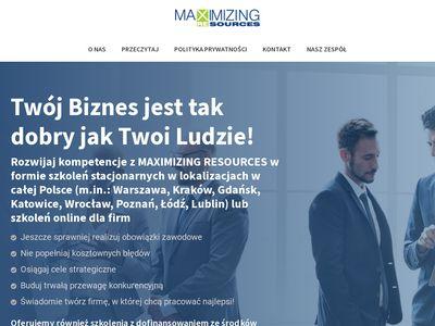 Maxres.pl kursy handlowe dla kierowników