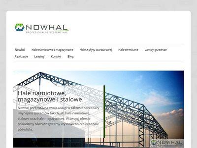 Nowhal - hale namiotowe, Szczecin