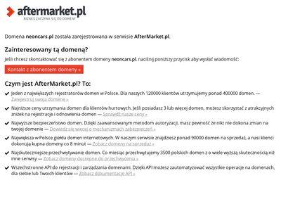 Neoncars.pl najlepszy sklep tuningowy