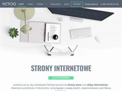 Netido.pl - tworzenie stron internetowych