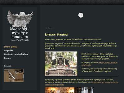 Nagrobkipredota.pl zakład kamieniarski