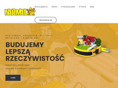 Narmal artykuły budowlane Sosnowiec