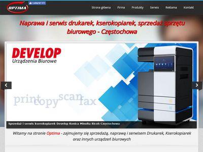 Optima-md - serwis laptopów Częstochowa