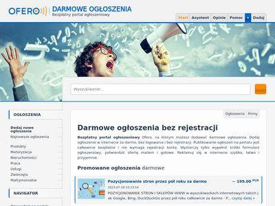 Ofero.pl przetargi budowlane