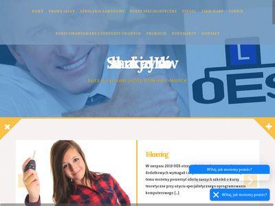 Oes.com.pl kurs prawa jazdy w Krakowie