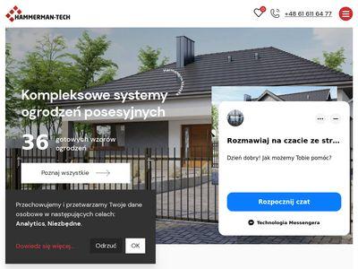 Hammerman-Tech centrum ogrodzeń