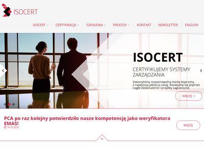 Isocert.org.pl certyfikat ISO