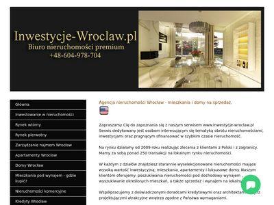 Inwestycje-wroclaw.pl nieruchomości