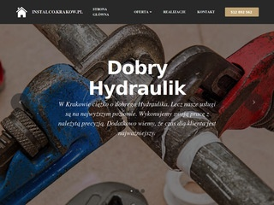 Instalco.krakow.pl - hydraulik