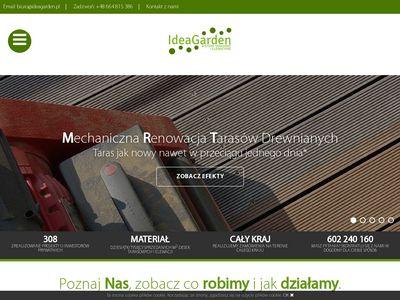 Deski tarasowe - ideagarden.pl