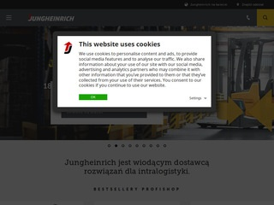 Jungheinrich - wózki widłowe
