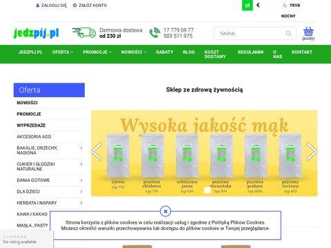 Jedzpij.pl zdrowa żywność online