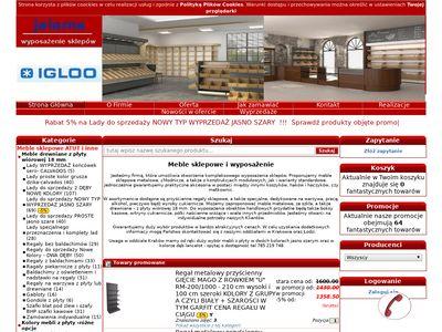 Jalama.pl - wyposażenie do sklepów