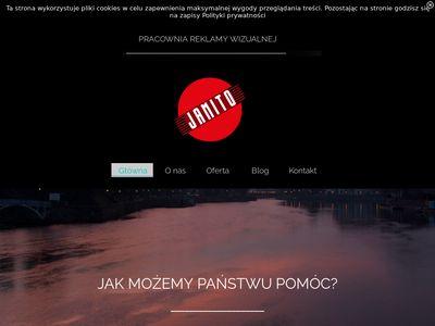 Reklama Wrocław, etykiety, naklejki