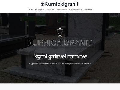 Kurnickigranit.pl grobowce, tablice
