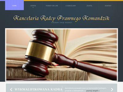 Komandzik.pl - adwokat Tarnowskie Góry