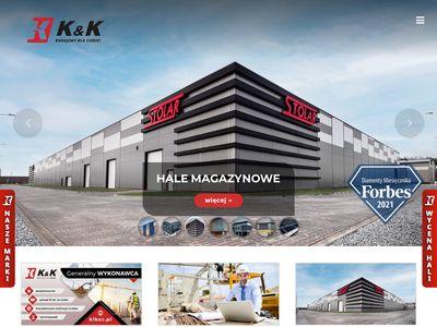 Kiksc.pl - budowa hal magazynowych