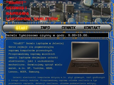 KiuBIT serwis laptopów