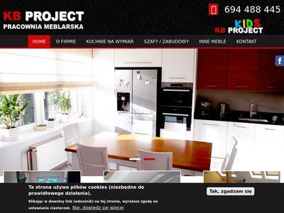 Kbproject.pl zabudowy na zamówienie