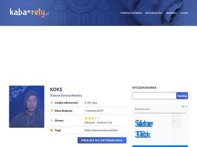Kaba-rety.pl polskie kabarety