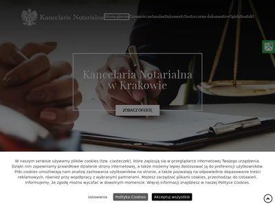 Kancelarianotarialnakrakow.com.pl