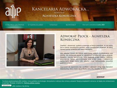 Kancelariaplock.pl adwokat