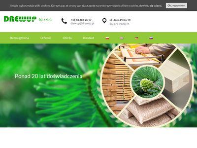 Drewup - elementy meblowe