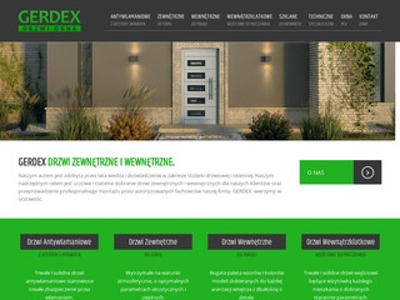 Gerdex - drzwi zewnętrzne i wewnętrzne