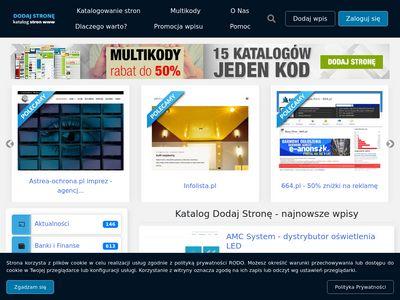 Dodaj-strone.com.pl reklama stron www
