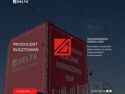 Delta-Bud wynajem rusztowań