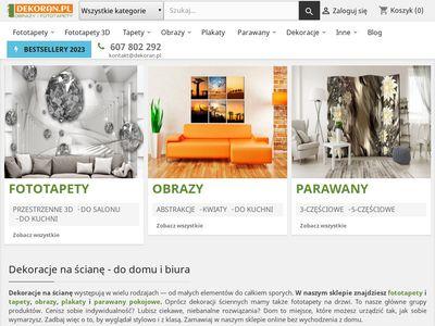 Dekoran.pl - obrazy ręcznie malowane