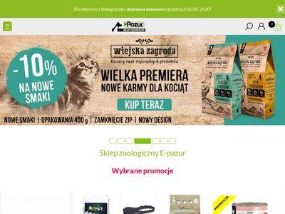 E-Pazur.com sklep zoologiczny