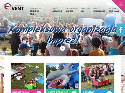 Eventexpress.pl wynajem atrakcji na imprezy