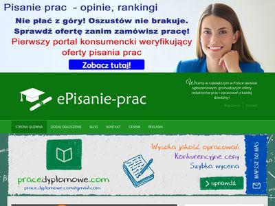 Episanie-prac.pl prace licencjackie