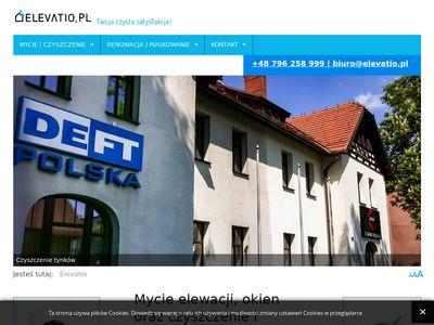 Elevatio.pl - piaskowanie elewacji